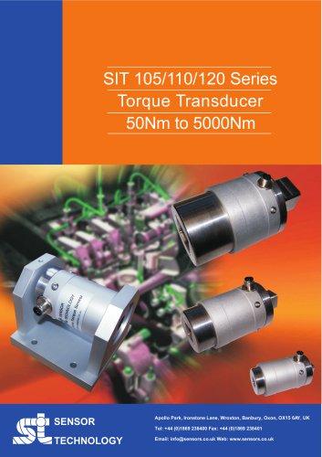 SIT 105/110/120 Series Strain Gauge Reaction Torque Sensors