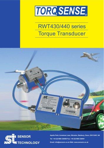 TorqSense RWT430/440 Torque Sensor with Separate Electronics