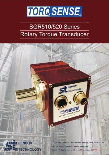 TorqSense SGR510/520 Digital Rotary Strain Gauge Series