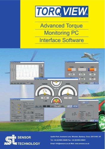 TorqView Advanced Torque Monitoring Software