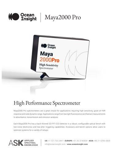 Maya 2000 Pro Spectrometer