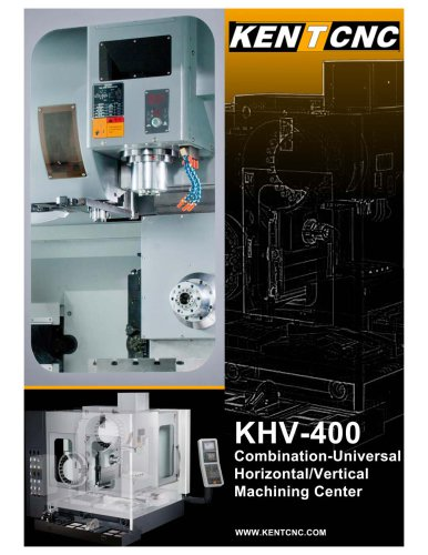 KHV-400 Combination Horizontal and Vertical Machining Center