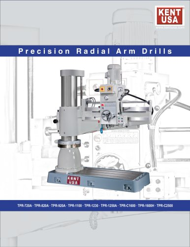 precision Radial Arm Drills