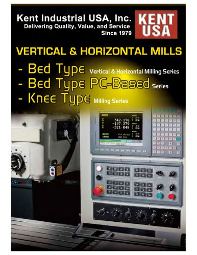 Vertical & Horizontal Mills