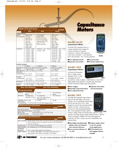 Compact Capacitance Meter to 20 mF