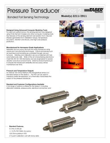 Taber Aerospace Transducers Model 2211