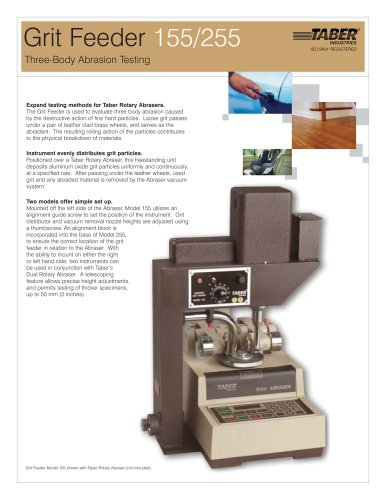TABER Grit Feeder Attachment (Abrasion Tester)