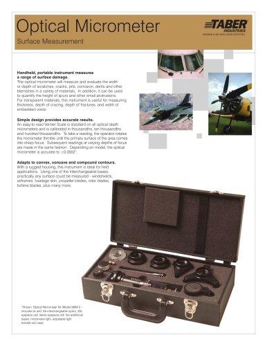 TABER Optical Micrometer