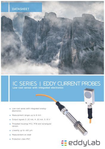 Eddy current Probes Series IC