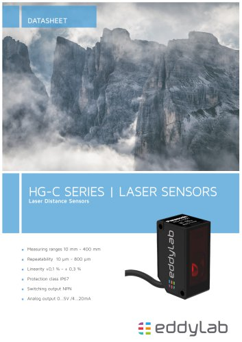 HG-C series, Laser distance sensors