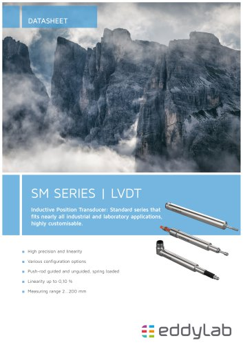 LVDT Inductive Transducer SM series