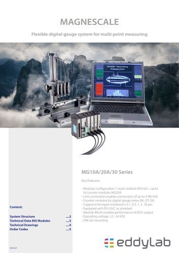 MG-10A/20A/30 Multi point measuring device - Magnescale ®