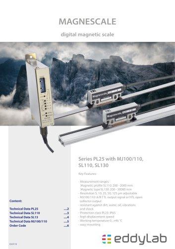 PL25 with MJ100/110 Interpolator - Magnescale ®