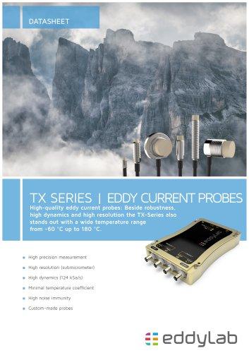 TX Series - EDDY CURRENT PROBES