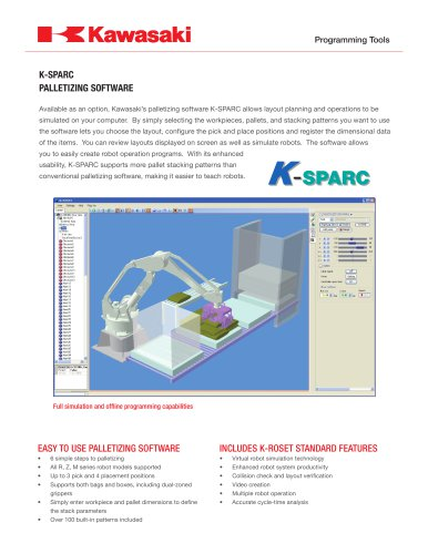 K-SPARC PALLETIZING SOFTWARE