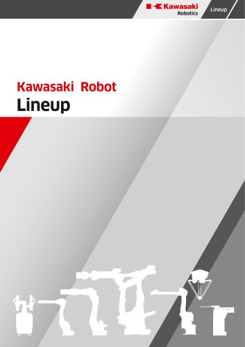 Line Up Kawasaki Robot with Options