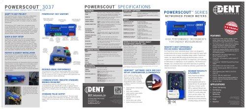 PowerScout 3037/24 Datasheet