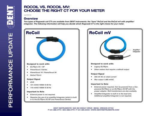 RoCoil vs RoCoil mV