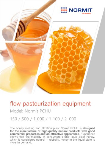 flow pasteurization equipment