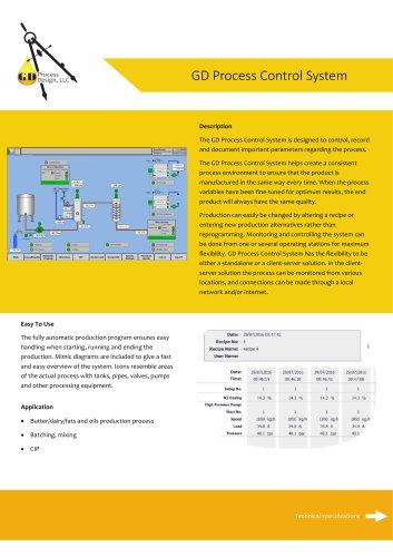GD Process Control System