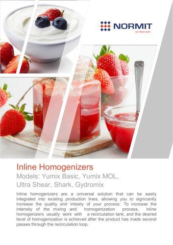 Inline Homogenizers