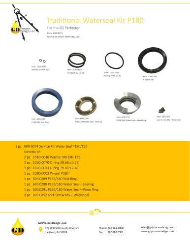TRADITIONAL WATERSEAL KIT P180