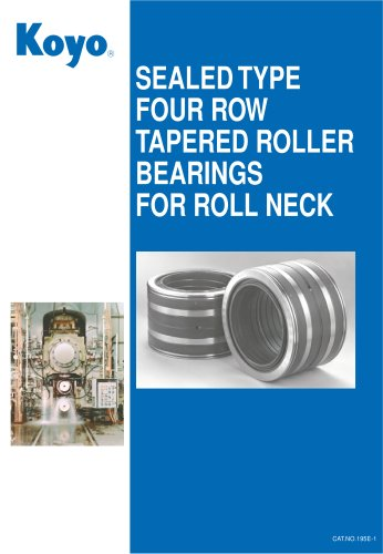 Roll Neck Bearings