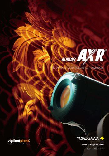 ADMAG AXR Two-wire Magnetic Flowmeters