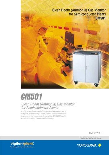 CM501 Clean Room (Ammonia) Gas Monitor