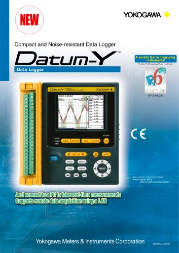 Compact and Noise-resistant Data Logger