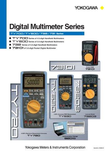 digital multimeter series