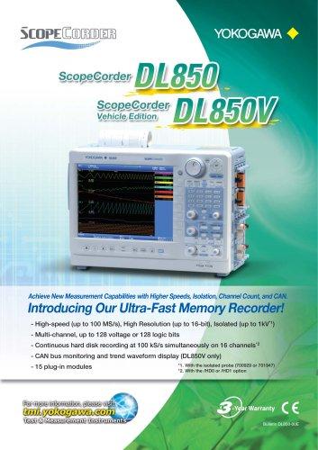 DL850/DL850V SCOPECORDER