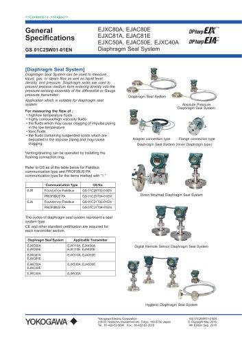 EJXC40A Digital Remote Sensor