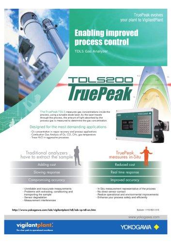 Enabling improved process control TDLS Gas Analyzer