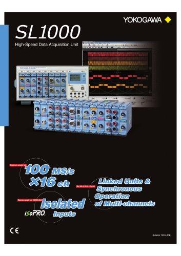 SL1000 High-Speed Data Acquisition Unit