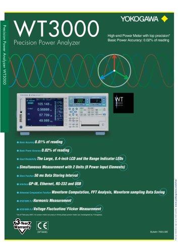 WT 3000 Precision Power Analyzer