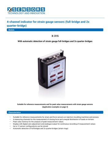 Indicator X-315