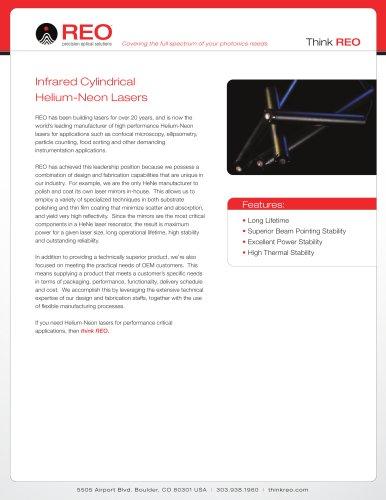 Infrared Helium-Neon