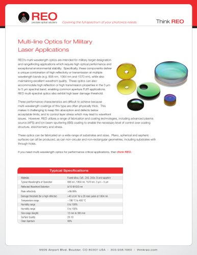 Multiline Optics