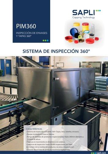 INSPECCIÓN DE ENVASES Y TAPAS 360º