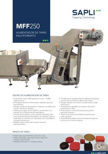 MFF250 Alimentador de Tapas Multiformato
