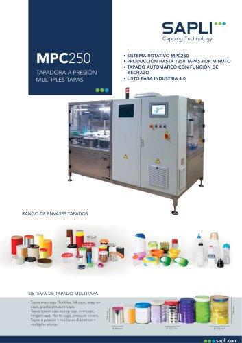 MPC250 Tapadora a Presión Multiformato