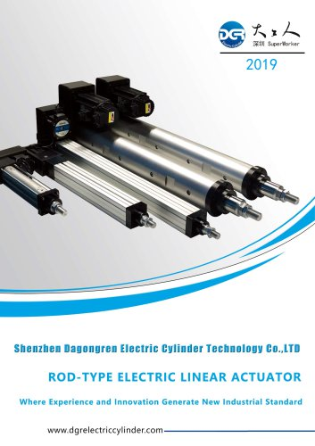DGR Electric cylinder Selection Guide