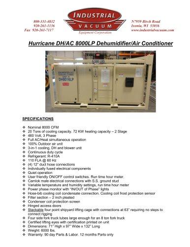 DH/AC 8000 LP
