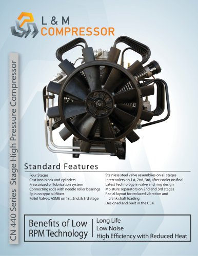 CN 440 Series Stage High Pressure Compressor