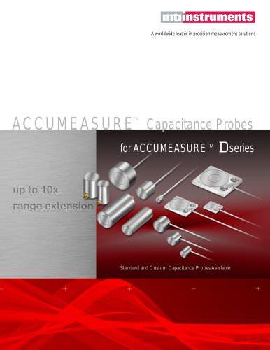 ACCUMEASURE CAPACITANCE PROBES - FOR DIGITAL ACCUMEASURE AMPLIFIER