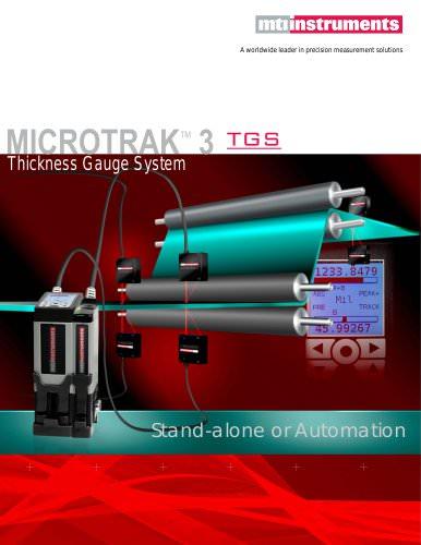 Laser Thickness Gauge System