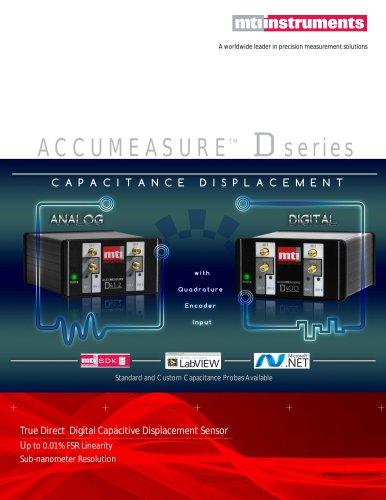 NEW Accumeasure D series - Digital Capacitance Measurement Sensors