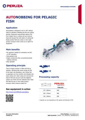 AUTONOBBING FOR PELAGIC FISH