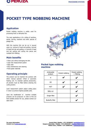 POCKET TYPE NOBBING MACHINE